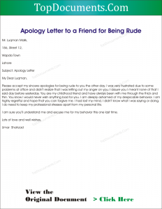 apology letter to a friend apology letter to a friend top docx 44265